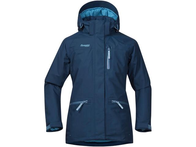 Bergans Alme Insulated Jacket Barn dark steel blue/steel blue/glacier